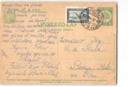 9641 01 BUDAPEST TO ROVIGO - Entiers Postaux
