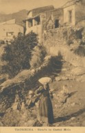 Z.565.  TAORMINA - Messina - Strada In Castel Mola - Autres Villes