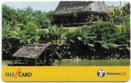 Fiji - Telecom Fiji - Traditional Fiji, Bures, Cn.99113, Remote Mem. 3$, Used - Figi