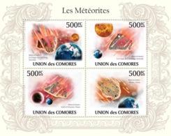 COMORES 2010 - Meteorites In Australia & Oman. YT 1882-1885, Mi 2622-2625 - Comoros