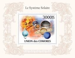 COMORES 2010 - The Solar System. YT 245, Mi 2631/BL561 - Comoros