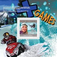 COMORES 2010 - X Games (Jamie Anderson). YT 269, Mi 2760/BL586 - Comores (1975-...)