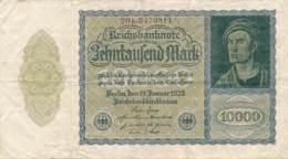 Numismatique -B3729 -Allemagne 10000 Mark 1922 ( Catégorie,  Nature état ... Scans)-Envoi Gratuit - [ 3] 1918-1933 : República De Weimar