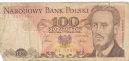 Numismatique -B3729 -Pologne- 100 Zlotych 1986 ( Catégorie,  Nature état ... Scans)-Envoi Gratuit - Poland