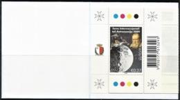 2009 Malta Europa: Astronomy Booklet (** / MNH /UMM) - Europa-CEPT