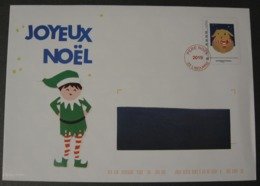 """PAP """"PERE NOEL 2019"""" ENVELOPPE NON OUVERTE - MONTIMBRAMOI - PAP : Sovrastampe Private"""