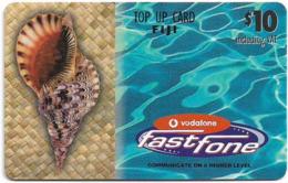 Fiji - Vodafone - FastFone Top Up, Shell, Cn.00500, GSM Refill 10$, Used - Fidji