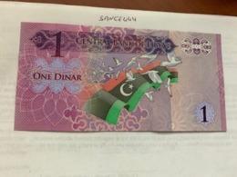 Libya 1 Dinar Uncirculated Banknote 2013 - Libya