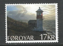 Faeroër, Yv 804 Jaar 2014, Hoge Waarde, Gestempeld - Färöer Inseln