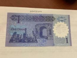 Libya 1 Dinar Uncirculated Polymer Banknote 2019 - Libië
