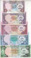 KUWAIT 1/4 1/2 1 5 10 DINAR 1980 1991 P-11 12 13 14 15 Sig/6 EF/AU SET */* - Kuwait