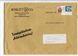 Germania (2000) - Busta Di Grande Formato Per L'Italia - [7] Repubblica Federale