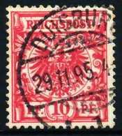 D-REICH KRONE ADLER Nr 47d Zentrisch Gestempelt X68AD3E - Used Stamps