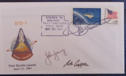 1981 - COVER -  SALT LAKE CITY, UTAH - UTAPEX '81 - STS-1 - Verenigde Staten