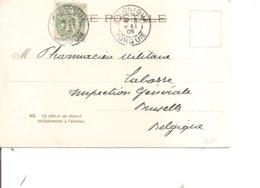 Levant Français ( CP De 1905 De Salonique Vers La Belgique à Voir) - Levant (1885-1946)