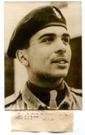 Photographie ADP Roi Hussein De Jordanie 25 Avril 1957 - War, Military