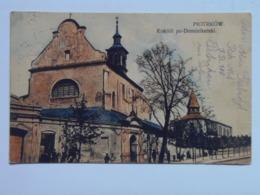 Poland Polsko 10 Piotrkow 1916 Feldpost - Poland