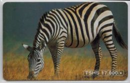 Zèbre 17000 TSHS - Voir Scans - Tanzanie