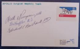 APOLLO SURGICAL MEDICIN TEAM, SIGNED - Stati Uniti