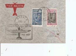 Cameroun ( Lettre Par Avion De 1937 De Douala Vers Cotonou à Voir) - Briefe U. Dokumente