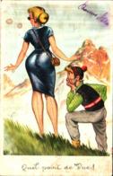 Illustration 47 Humour Pin-up Quel Point De Vue - Illustratori & Fotografie