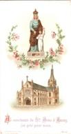 Au Sanctuaire De Notre-Dame De Sainte-Anne D'Auray, J'ai Prié Pour Vous - Litanies De Sainte-Anne - 2 Scans - Devotion Images