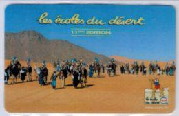 TOP COLLECTION  - Carte Prépayée Française - STARTEC Les écoles Du Désert Cora Version 15 Minutes - Voir Scans - France