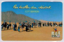 TOP COLLECTION  - Carte Prépayée Française - STARTEC Les écoles Du Désert Cora Version 60 Minutes - Voir Scans - France