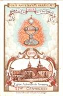 Congrès National Eucharistique 20-24 Mai 1908, 3e Centenaire De L'église Abbatiale De Faverney TBE 2 Scans - Devotion Images