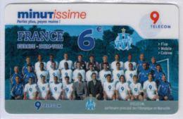 TOP COLLECTION  - Carte Prépayée Française - Olympique De Marseille - Voir Scans - France