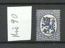 FINLAND FINNLAND 1922 Michel 90 A * - Finland