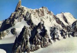 Courmayeur - Dente Del Gigante - Formato Grande Non Viaggiata – E 14 - Aosta