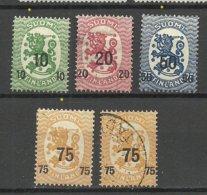 FINLAND FINNLAND 1919 Michel 103 - 106 */o - Finland