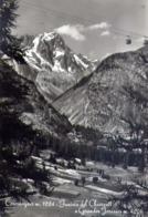 Courmayeur - Funivia Del Checrouit E Grandes Jorasses - Formato Grande Viaggiata – E 14 - Aosta