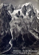 Courmayeur - Les Grandes Jorasses Visti Dal Monte De La Sesce  - Formato Grande Viaggiata – E 14 - Aosta