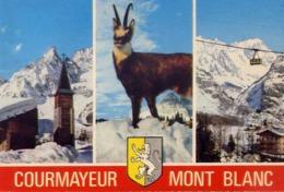 Courmayeur - M.blanc - Formato Grande Viaggiata – E 14 - Aosta