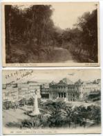 Algérie . Lot 5 Cartes ORAN Route Planteurs . Hôtel Ville & Place Armes . Square Souvenir . Cathédrale . Le Port - Oran