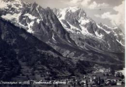 Courmayeur - Panorama Di Entreves - Formato Grande Viaggiata – E 14 - Aosta