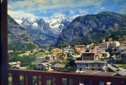Courmayeur - Panorama E La Catena Del Monte Bianco - Formato Grande Non Viaggiata – E 14 - Aosta