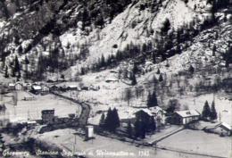 Gressoney - Aosta - Stazione Seggiovia Di Weissmatten - Formato Grande Viaggiata – E 14 - Aosta