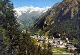 Gressoney St. Jean - Aosta - Panorama - Formato Grande Viaggiata – E 14 - Aosta