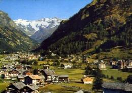 Gressoney St. Jean - Aosta - Panorama Sullo Sfondo Il M.rosa - Formato Grande Viaggiata Mancante Di Affrancatura – E 14 - Aosta