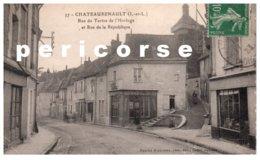 37  Chateaurenault  Location Réparation Cycles  Rue Du Tertre Et Rue De La République - Andere Gemeenten