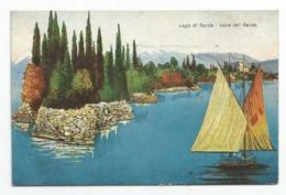 Brescia, 1937 - Lago Di Garda - Isola Del Garda. - Brescia