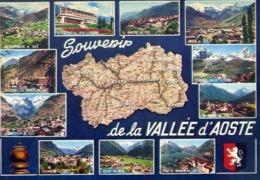 Souvenir De La Valle D'aosta - Formato Grande Viaggiata – E 14 - Unclassified
