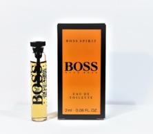 échantillons De Parfum  BOSS  De HUGO BOSS   EDT 2 Ml - Perfume Samples (testers)
