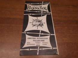 Old Brochure, Prospect - Expedition Boomerang 1956, Olympic Games - Andere Verzamelingen