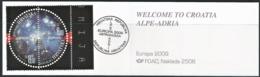 2009 Croatia Europa: Astronomy Booklet (** / MNH /UMM) - Europa-CEPT
