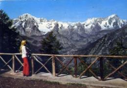 Catena Del M.bianco Dalla Balconata Di Tetè D'arpy - Valle D'aosta - Formato Grande Viaggiata – E 14 - Unclassified