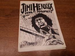 Old Brochure, Prospect - Jimi Hendrix - Andere Verzamelingen